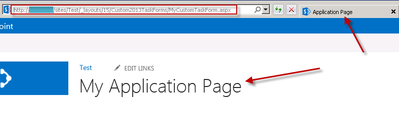 Checking whether default application page was deployed sucessfully